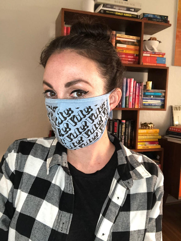 Preventable + Vote Face Masks 2 Pack