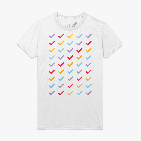 Vote Save America Checkmark T-Shirt White
