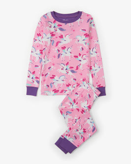 Winged Unicorns Organic Cotton Pajama Set