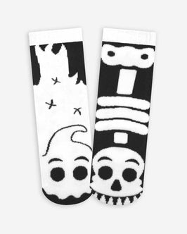 Pals Ghost & Skeleton Kids Socks