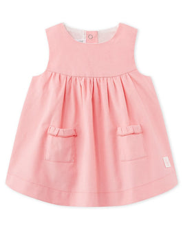 Baby girl's velours dress
