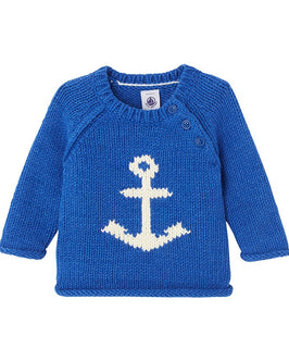 Baby boy's jacquard pullover