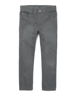 Boys Skinny Twill Five-Pocket Pants