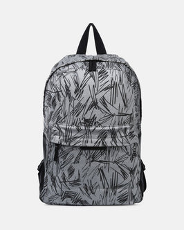 Bang Gray Scribble Backpack