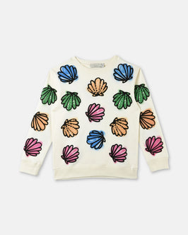 Betty Shells Print Sweater