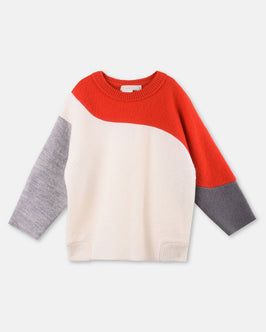 Radish White Knit Sweater