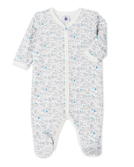 Baby girl's printed sleeper