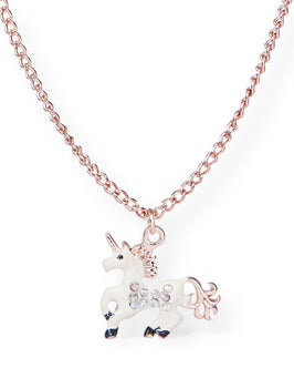Girls Embellished Unicorn Necklace