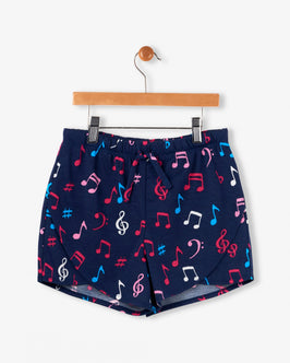 Colourful Music Notes Tween Short