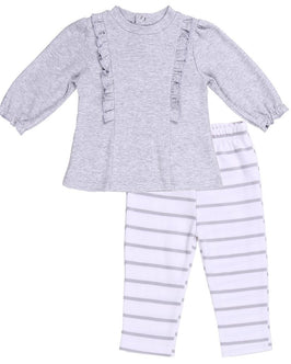 BABY OUTFIT (RUFFLE TUNIC W/ PANTS)