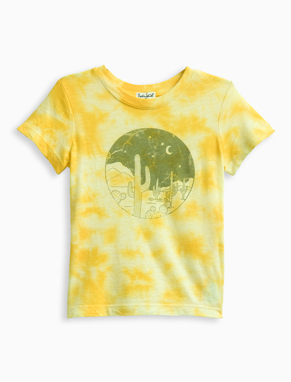 Little Boy Tie Dye Graphic Tee
