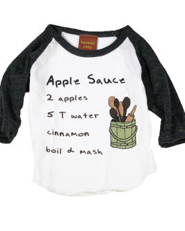 Apple Sauce Raglan Shirt
