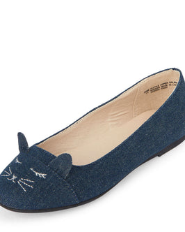 Girls Cat June Ballet Flat