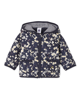 Baby girl's printed jacket