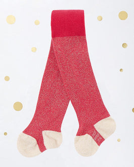 Baby girl's lurex tights