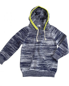 Cotton Sweater Knit Hoodie