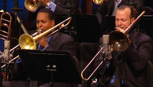 "Watch the JLCO with Wynton Marsalis Perform ""Just a-Slidin'"""