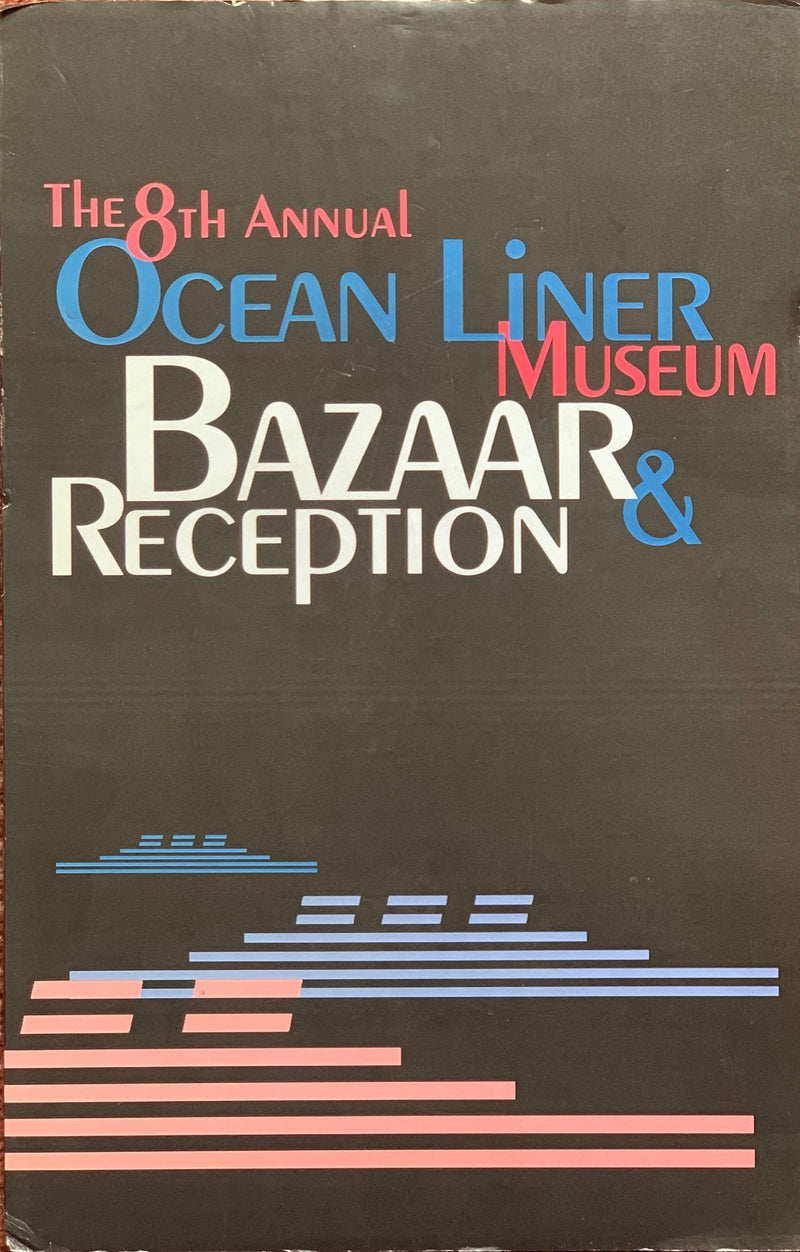 Various Ships - Standee for the Ocean Liner Museum's Bazaar