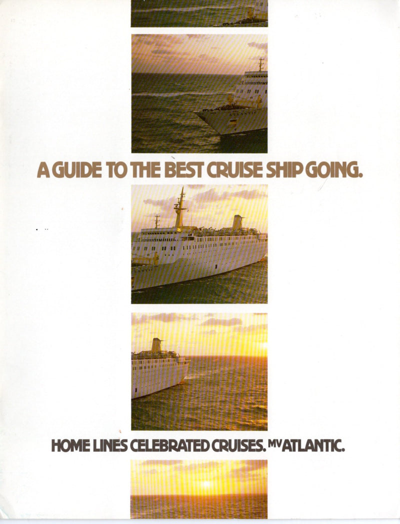 ATLANTIC: 1982 - Special travel agent brochure