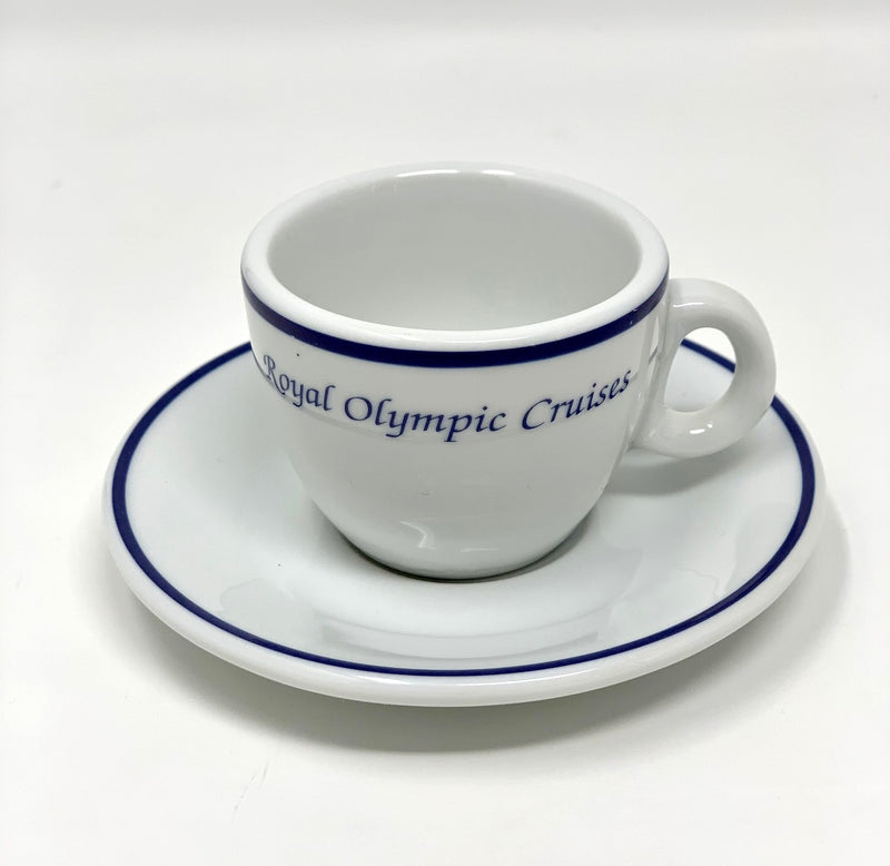 Various Ships - Royal Olympic Cruises demi cup & saucer