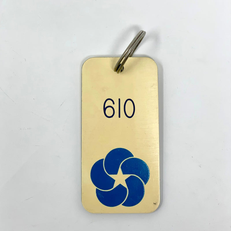LIBERTE: 1958 - Key tag to cabin 610