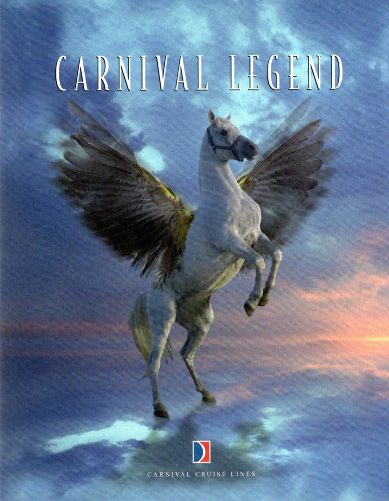 CARNIVAL LEGEND: 2002 - Inaugural season book
