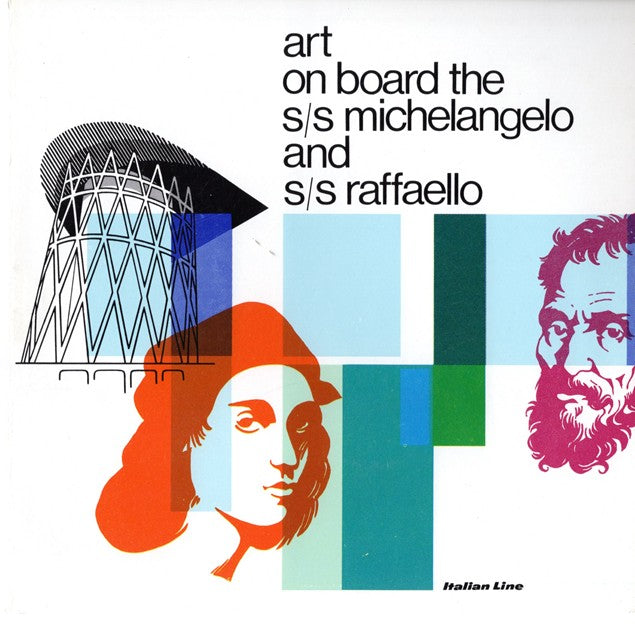 "MICHELANGELO & RAFFAELLO: 1965 - Deluxe ""Art on Board"" Book w/ Slipcover"