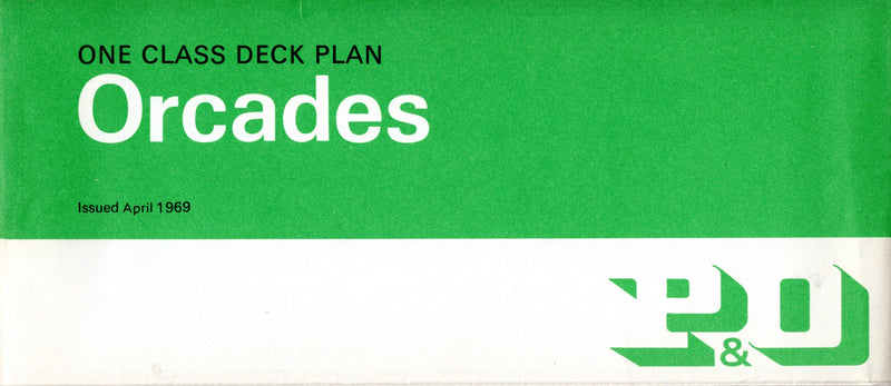 ORCADES: 1948 - One-class plan from 1960s