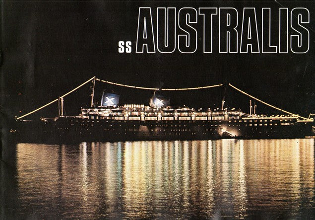 AUSTRALIS: 1940 - Deluxe Chandris brochure w/ plans & interiors