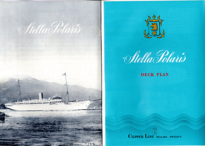 STELLA POLARIS: 1927 - Deluxe 1969 brochure w/ color interiors & deck plans