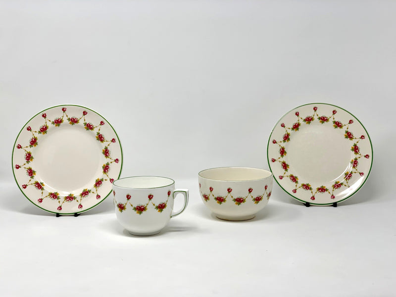 Various Ships - 4-piece Union-Castle First Class tea china