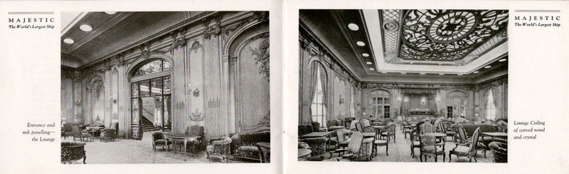 MAJESTIC: 1922 - Deluxe interiors brochure from 1920s