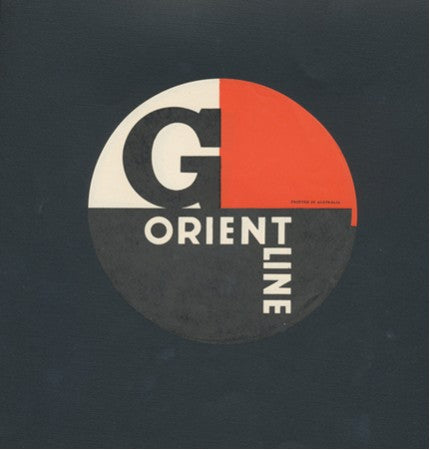 "Various Ships - Stylish Orient Line ""G"" sticker"