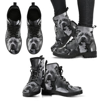 Pit Face Leather Boots