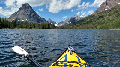 Kayaking in Glacier National Park
