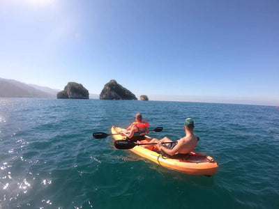 Kayaking at Puerto Vallarta's Los Arcos National Marine Park