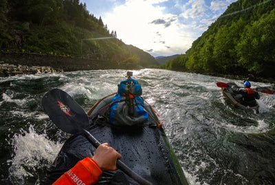 Aqua-Bound's Shred Carbon Whitewater 4-piece Paddle [Video]