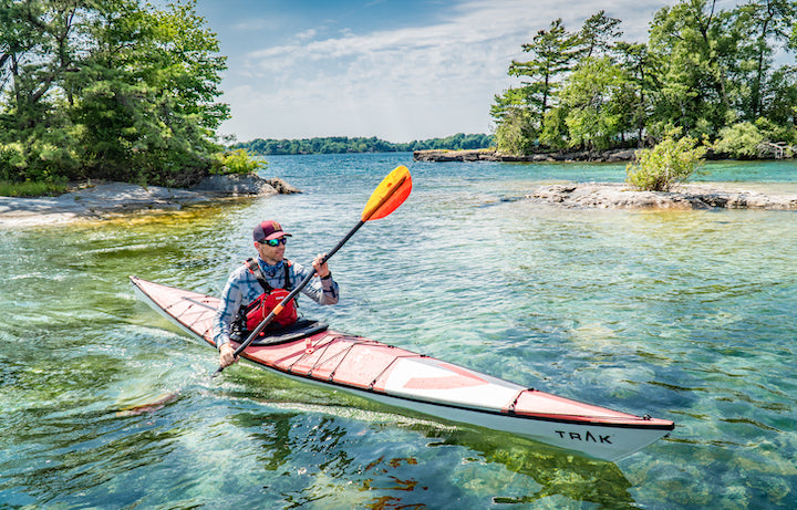 kayaking Ontario's 1000 Islands