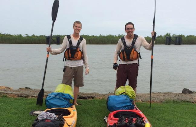 2 mn teens paddle mississippi