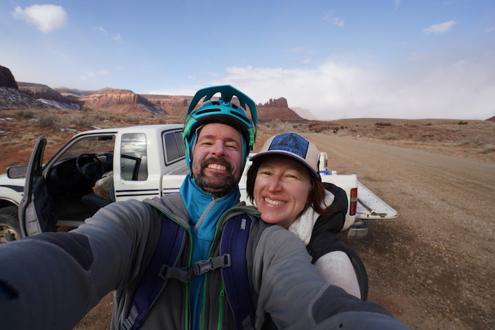 steve fassbinder and lizzy scully, owners of four corners guides