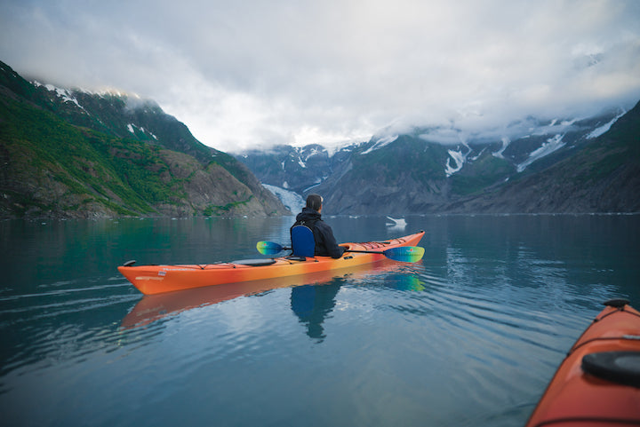 kayaking the fjords of alaska