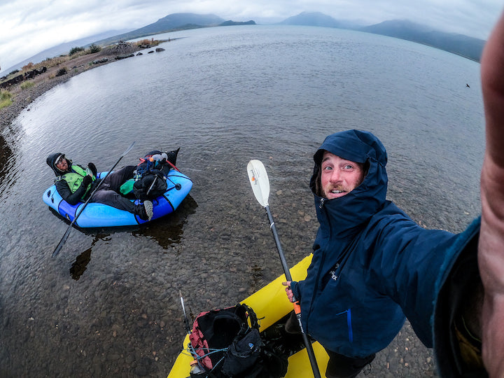 packrafting Alaska's Bear Lake
