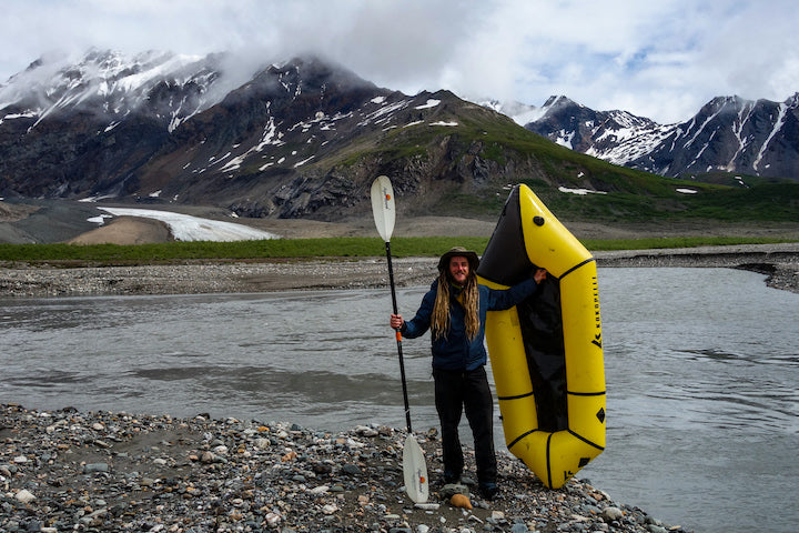 packrafting across alaska