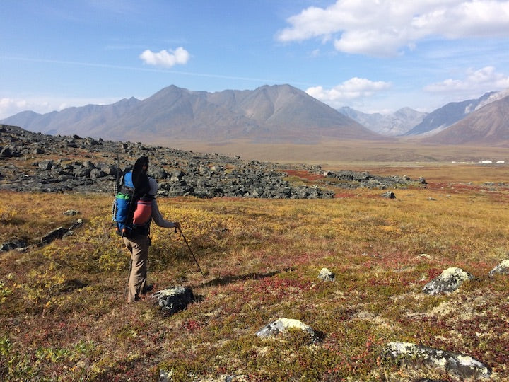backpacking brooks range, alaska