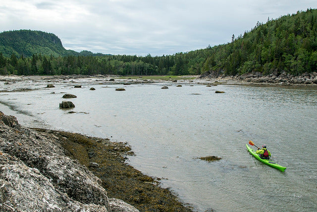 Kayaking in Bas Saint Laurent, Quebec