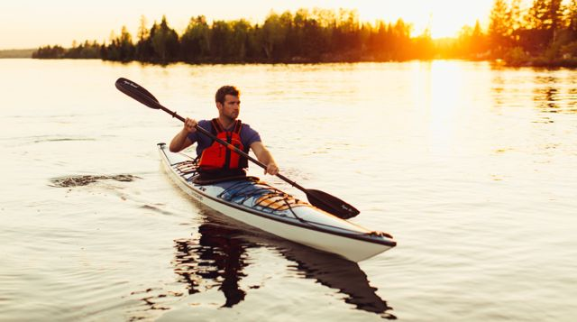 aquabound kayaker