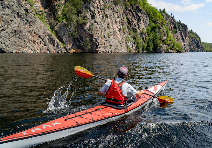 kayaking in bon echo provincial park