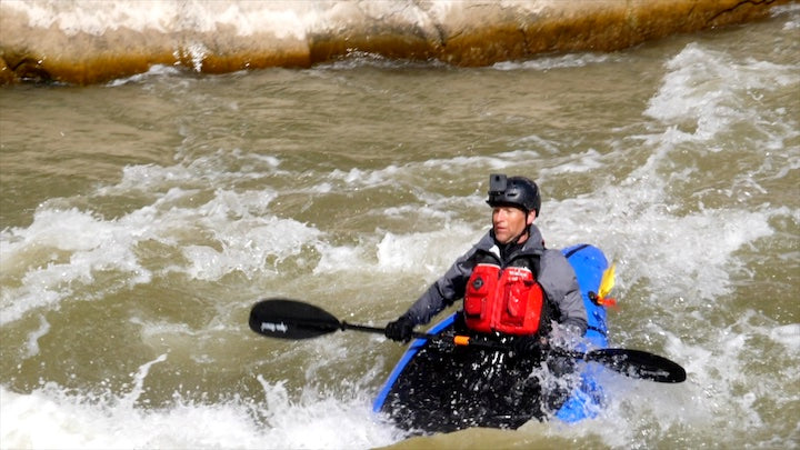 packrafter rapids in westwater canyon