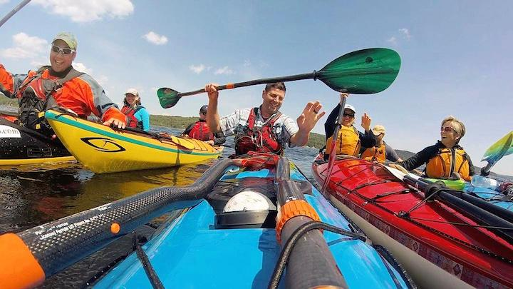 kayakers ready for a new season