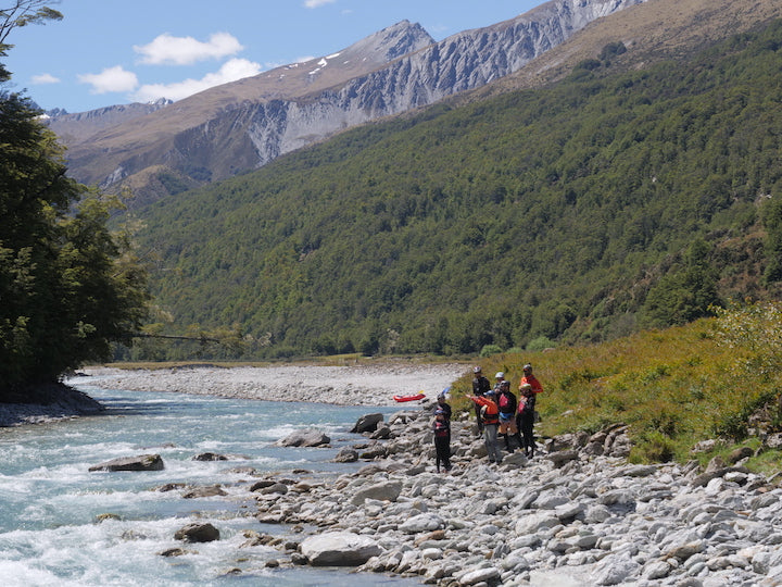packrafting rees river new zealand